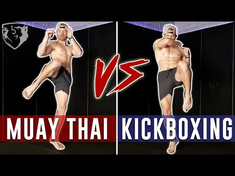 Muay Thai vs Kickboxing KNEE Style - Extreme Taekwondo
